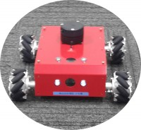 4wd自律移動ロボット
